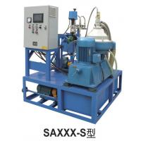 Small disc Centrifugal Oil Purifier Water Fuel Filter Separator  Variable Discharging 500 - 1000 L/H Manufactures