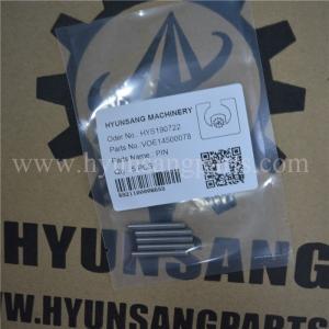 VOE14500078 SA8220-13340 SA8230-21610 Excavator Volvo Pin SA8230-3340 SA8230-2520 SA8230-2550 SA8230-2650 SA8230-2660 Manufactures