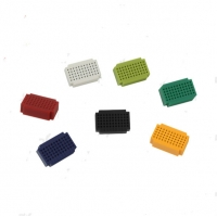 Colorful Prototyping Breadboard , Solderless Super Mini Prototyping Board Manufactures