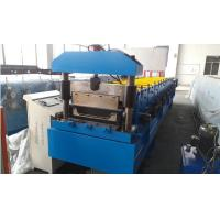 Roof Panel Standing Seam Roll Forming Machine With Rib And Electrical Seaming Machine Manufactures