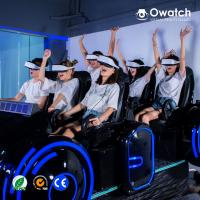 2019 HOT SALE!! High Quality Interactive Dynamic Platform Cinema Simulator 6 Seats 9D VR Family Simulator Manufactures