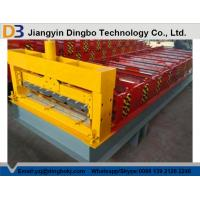 Quality Roof Construction Floor Deck Roll Forming Machine With 30 Groups Rollers for sale