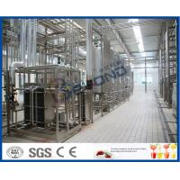 China Multifunctional Milk Production Machinery For Pasteurized UHT Milk / Cream / Butter on sale