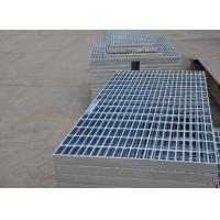 Flat Hot Dipped Galvanized Walkway Grating , Steel Safety Grating For Bridge Manufactures