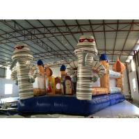 Amusement Park Commercial Inflatable Water Slides Egypt Tour Style 6.5 X 9 X 4.5m Manufactures