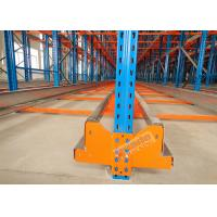 High Density Storage Racks Radio Shuttle Racking Adjustable Baseplate Type 50 Meters Per Min
