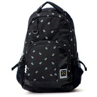 Heavy Duty  Laptop Outdoor Sports Backpack Printed Polyester Leisure For Students