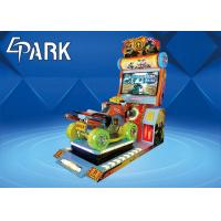 Epark Malaysia Electronic coin operated racing car game Machine with interactive rocking seat Manufactures