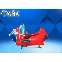 British Style Plane Arcade Kids Coin Operated Game Machine Front And Rear Bevel 12° Manufactures