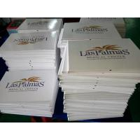 Cheap Customized Printed A4 / A5 4.3 Video Booklet , Lcd Video Brochure For Presentation for sale
