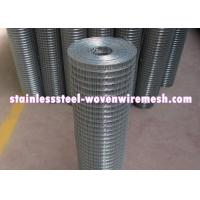 Durable Stainless Steel Welded Wire Fabric , Stainless Steel Wire Mesh Panels Manufactures