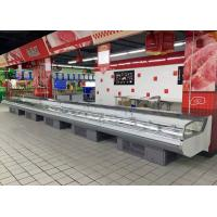 Commercial Fresh Meat Display Chiller With Self - Contained Embraco Compressor