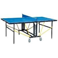 Double Folding Movable Outdoor Table Tennis Table (with wheels) Manufactures