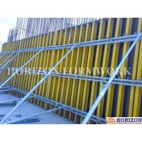 Easy-to-assemble Wall Formwork Systems / Panels With Steel Walers and Wood Girder H20 Manufactures