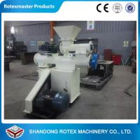 China Horizontal Ring Die Cattle Feed Pellet Machine For Corn Meal , Wheat Meal on sale