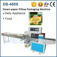 Factory Price Horizontal Pillow Cheddar Cheese Wrap Equipment Manufactures