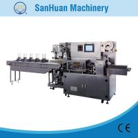 China Multifunctional Pillow Type Plaster Flow Wrapping Equipment With Multi Pieces Automatic Feeding on sale