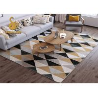 Anti Stactic Carpet Underlay Felt / Non-Slip Polyester Rug For Home Decoration Manufactures