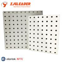China Acoustical Perforated acoustic gypsum board/ceiling panel on sale