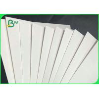 100% Virgin Wood Pulp 1.2mm 1.6mm Uncoated Absorbent Paper For Hotel Coaster Manufactures