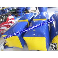 Custom Inflatable Paintball Field / Waterproof PVC Tarpaulin Paintaball Bunker Manufactures