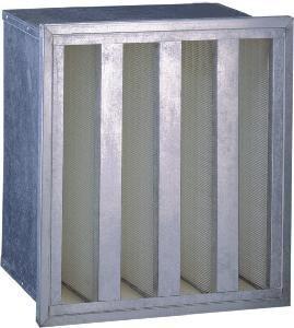 Aluminum Alloy HEPA Air Filter with 99.99%@0.3um (AH-2) Manufactures