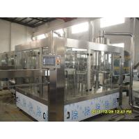 Halal Energy Drinks Automatic Bottle Filling Machine 3 In 1 Filling Machine Manufactures