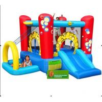 Funny Carton 4m Commercial Bounce Houses Double And Quadruple Stitching Manufactures