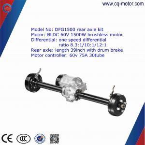 drum brake/disc brake 33 inch India Eletric Vehicle Rear Axle for E-rickshaw Manufactures