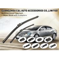 Reformative Universal Car Wiper Blade With Stainless Steel Strip Natural Rubber Refill Manufactures