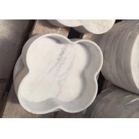 Polished Surface Marble Food Tray Customized Shape Food Grade Manufactures