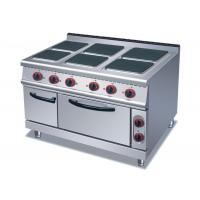 Cheap 4 Or 6 Plates Electric Range Cookers Round / Square Freestanding Electric Cooker for sale