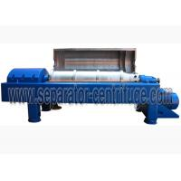 LW450 Wastewater Treatment Plant Equipment , Dewatering System Steel Mill Sludge Manufactures
