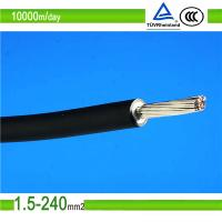 2PfG 1169 DC 1.8kv PV1-F 4mm2 dc solar cable with TUV & UL approval Manufactures