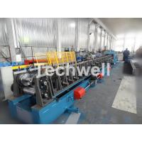 Auto Changeover CZ Purlin Roll Forming Machine / CZ Section Cold Roll Forming Machine Manufactures