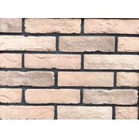 Natural Clay Fired Thin Brick Veneer Interior Walls Building Materials With Antique Type Manufactures