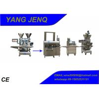 Independent Encrusting Machines for Fish Balls , Pastry Filler Machine Manufactures