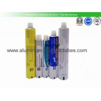 Eco Friendly Aluminium Collapsible Tubes , Metal Squeeze Tubes For Cosmetics