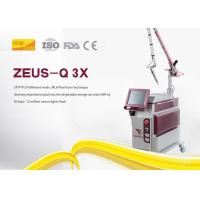 Picosecond Nd Yag Laser Tattoo Removal Machine Steel Sheet Material For Salon Manufactures