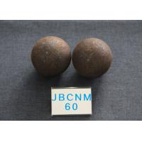 Cheap Cement  Plants  D60mm  Hot Rolling Steel Balls Grinding Media Core hardness 58-61hrc for sale