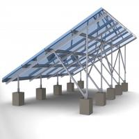 60m/s Solar Panel Ground Mounting Systems For Photovoltaic PV Array SGS Approved Manufactures