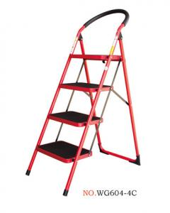 Anti Corrosion Household 1.3m Steel Step Ladder Manufactures