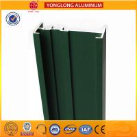 Square Green Powder Coated Aluminum Alloy Extrusion With Strong Stability Manufactures