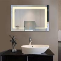 Luxury Hotel Modern Bathroom Mirrors With Led Lights, Anti Frog