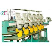Commercial Tubular Embroidery Machine With Multi-language Operating Interface , 6 Heads Manufactures