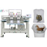 double Head multi Needle Computerized Embroidery Machine for Uniform / Robes Manufactures