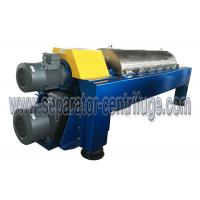 Horizontal Decanter Centrifuge Wastewater Treatment Plant Equipment Manufactures