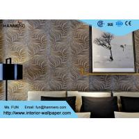 Cheap Embossed Modern Removable Wallpaper with Removable Vinyl Material 0.53*10M for sale