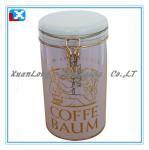 Colorful Coffee Metal Storage tin box Manufactures