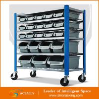Factory Price Mobile Bin Rack Manufactures